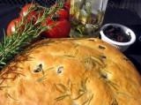 Pão de Azeitonas e Queijo Feta